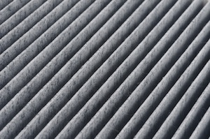 Dirty Pleated Air Filter